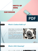 6 Core Benefits of HHO Cleaning for Your Car Engine