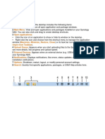 Synology basic information