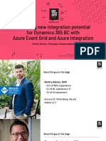 NAVTechDays2019 - Unlocking new integration potential for Dynamics 365 BC with Azure Event Grid and Azure Integration