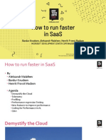 NAVTechDays2019 - How to run faster in SaaS