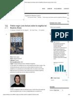 Fiebre negra (una lectura sobre la negritud en Buenos Aires) _ Omer Freixa