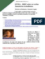 IMPOSTO DE RENDA - IRRF sobre as verbas recebidas em reclamatórias trabalhistas - a knol by Alexandre Röehrs Portinho