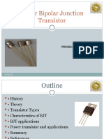 Power Bipolar Junction Transistor