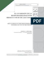 Concepto de Guardian en el Derecho Argentino