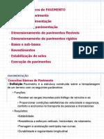 PAVIMENTAÇÃO Conceitos Básicos de Pavimento Definição - PDF
