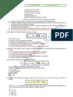 Exercícios de Equilíbrio Químico - Profº Agamenon Roberto