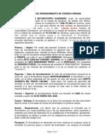 FORMATO DE CONTRATO DE CASA