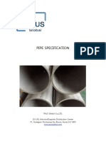 Pipe-Specification