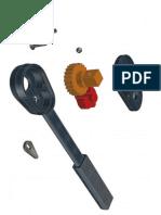 Chave de Catraca 3D