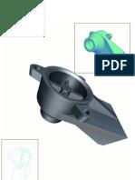 Corpo de válvula 3D