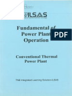 Fundamental of Power Plant Operation - Conventional Thermal Power Plant
