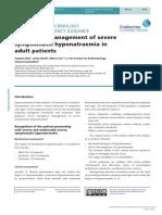 SFE Hyponatraemia guidelines