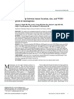 [10920684 - Neurosurgical Focus] Relationship between tumor location, size, and WHO grade in meningioma.pdf