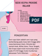 SENI RUPA PRIODE ISLAM DI INDONESIA