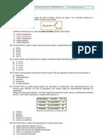 Exercícios de Funções Oxigenadas e Nitrogenadas - Profº Agamenon Roberto