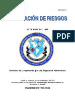FM 100-14 Minimización de Riesgos