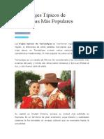 Los 4 Trajes Típicos de Tamaulipas Más Populares