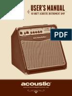 Acoustic-A40-Manual