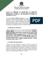 Edital TJ-AL 2019 - Cartório