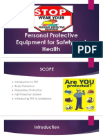 LEC 4 PERSONAL PROTECTIVE EQUIPMENT FOR SAFETY AND HEALTH