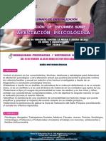 GUÍA METODOLÓGICA-DIPLOMADO ELABORACIÓN DE INFORMES SOBRE AFECTACIÓN PSICOLÓGICA