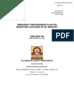 OISD-STD-168 - EMERGENCY PREPAREDNESS PLAN FOR MARKETING LOCATIONS OF OIL INDUSTRY