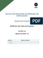 Mcvs-o1-101 Ficha de Proyecto (Alumno - Max Olim Espinoza Vara)