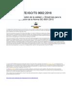 ISO 9002-2016 DIRECTRICES PARA LA APLICACION DE LOS REQUISITOS ISO 9001 2015.docx