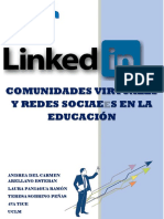 LINKEDIN. Andrea Del Carmen Arellano, Laura Paniagua y Teresa Sobrino. 4ºA