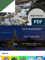 Bangkok Water Pollution