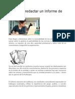 Tips para redactar un Informe de Auditoria