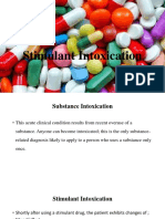 Stimulant Intoxication