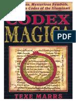 Codex Magica Secret Signs Mysterious Symbols Hidden Codes of the Illuminati 2005 by Marrs