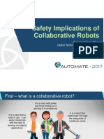 Shea - Safety Implications of Collaborative Robots