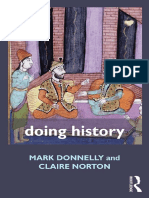 (Doing... Series) Mark Donnelly, Claire Norton - Doing History-Routledge (2011).pdf