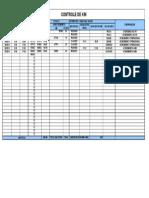 Controle de quilometragem - BDV