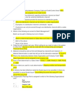 SAP SD pratice test
