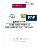 GEMAFORM - catalogue des formations  2019