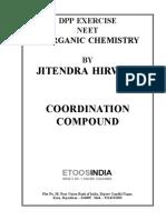 co ordination compound