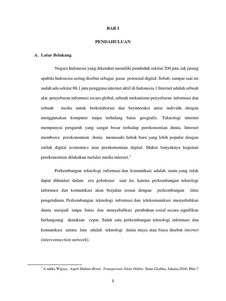 Makalah Omnibus Law