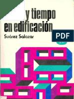 Costo Y Tiempo en Edificacion (Carlos Suarez Salazar)