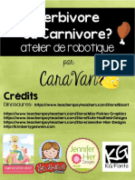 Herbivore Ou Carnivore AtelierBB CaraVan