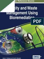 (Advances in environmental engineering and green technologies (AEEGT) book series) Ashok K. Rathoure, Ashok K. Rathoure, Vinod K. Dhatwalia - Toxicity and Waste Management Using Bioremediation-IGI Glo