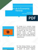 Origen de la Economía Naranja
