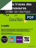 Sur Les Traces Des Dinosaures Découvertes Et Référentiel-AtelierBB-CaraVan