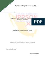 BASES SOCIOPOLITICAS Y JURÍDICAS DE LA EDUCACIÓN EN MÉXICO.docx