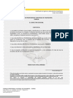 certificado de vigencia y antecedentes disciplinarios
