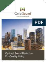 Acoustical Underlayment - Soundproof Underlayment for Laminate Floors