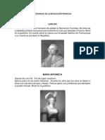 personajes de la revolucion francesa