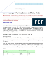 PowerTips- Motor Starting and Running Currents and Rating Guide